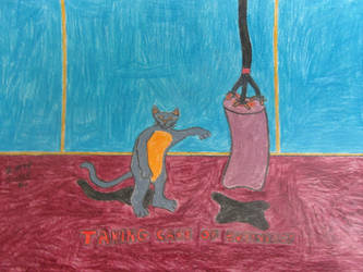 Giving A Cat A Workout by BorisFedorov
