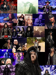 Undertaker (WWE) Collage by WWE-Undertaker