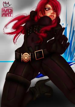 Persona 3 Mitsuru by Daniel Wickenhauser