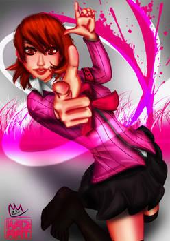 Persona 3 Yukari by Daniel Wickenhauser