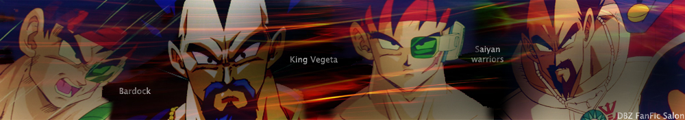 Bardock and King Vegeta banner by Amersss