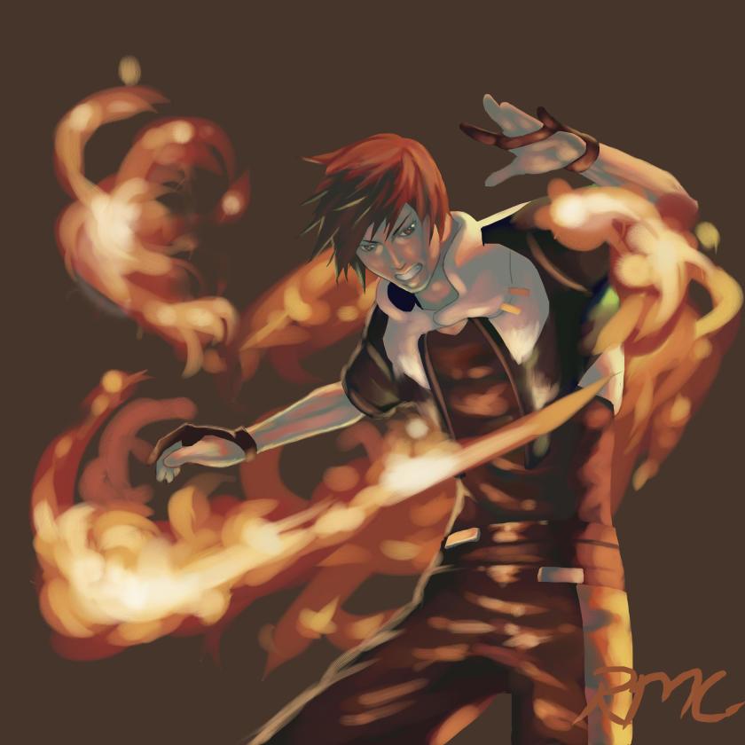 Fire boy by Mashiro