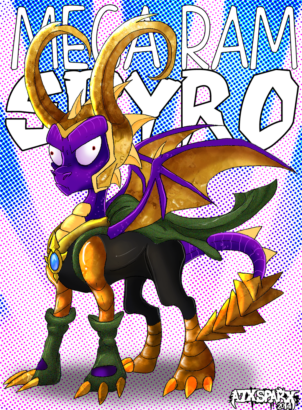 LOKI SPYRO TO THE RESCUE by A7XSparx