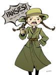 True Grit: Pansies