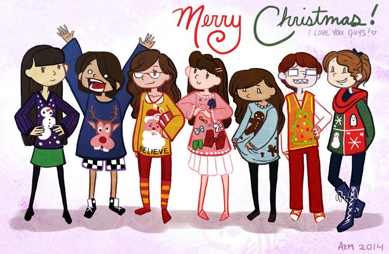 Secret Santa 2014 by captainashletART