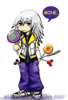 KHII: Riku's Obsession by captainashletART