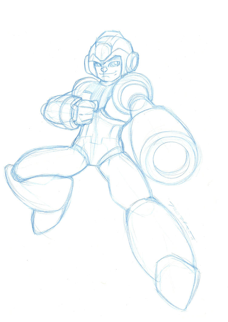 How To Draw Mega Man Zero page 2