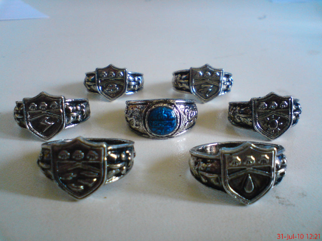 Vongola Rings Set For Sale