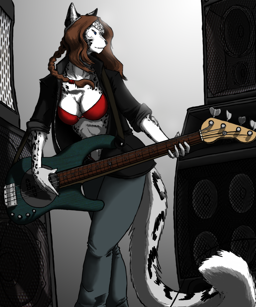 Bassist by Velvian