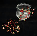 Ear Cuff Flames by Chained-Dragon