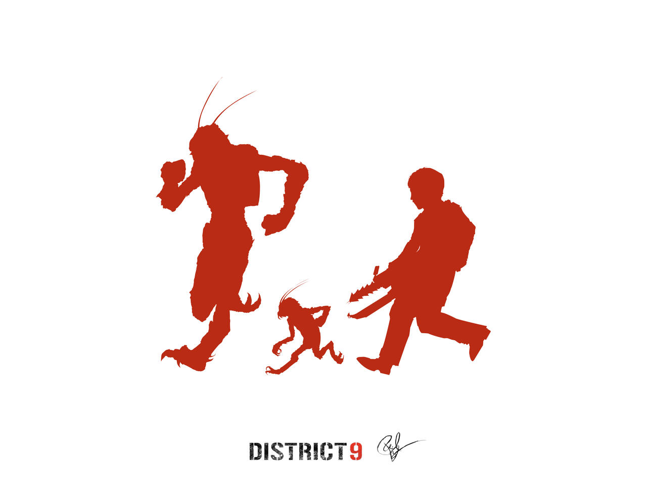Running from District 9