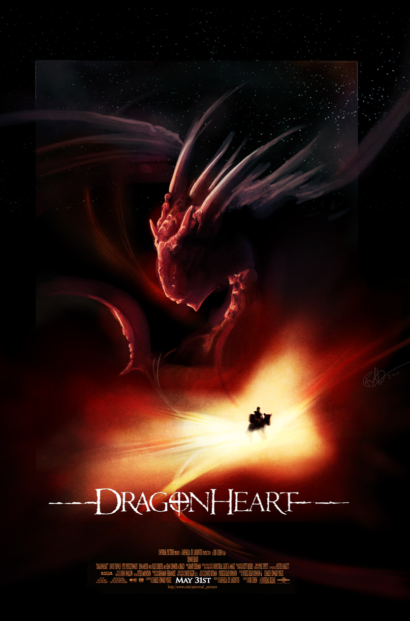 Dragonheart Poster Painting