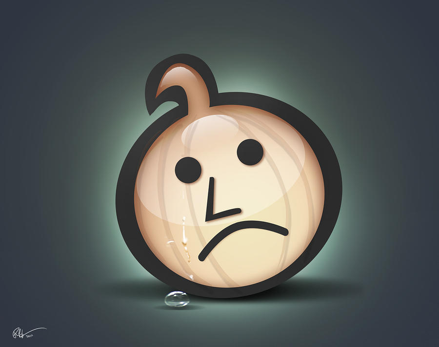 The Sad Onion by lord-phillock