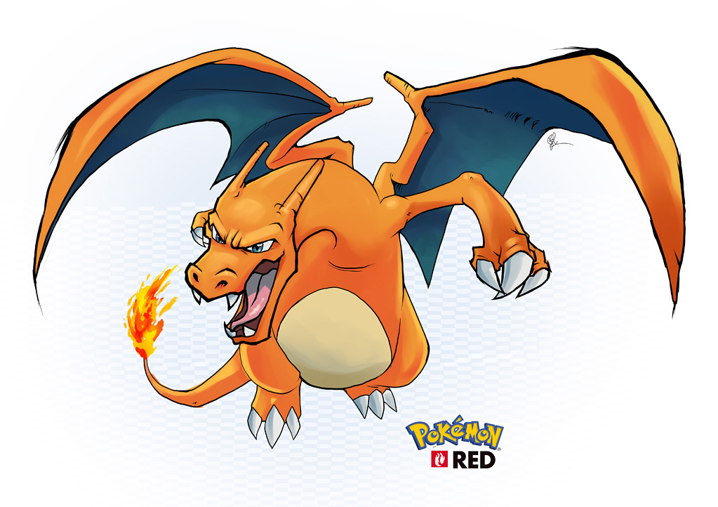Charizard - RED by lord-phillock on DeviantArt