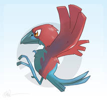 Porygon Z Alternate by lord-phillock