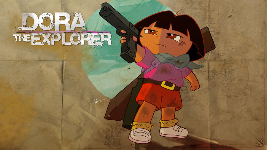 Uncharted Is Dora By Lord-phillock On DeviantArt