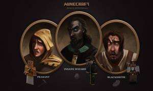 MineCraft Medieval Heroes