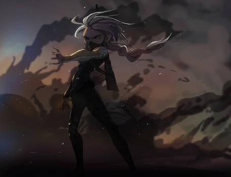 Winter Captain Elsa Soldier