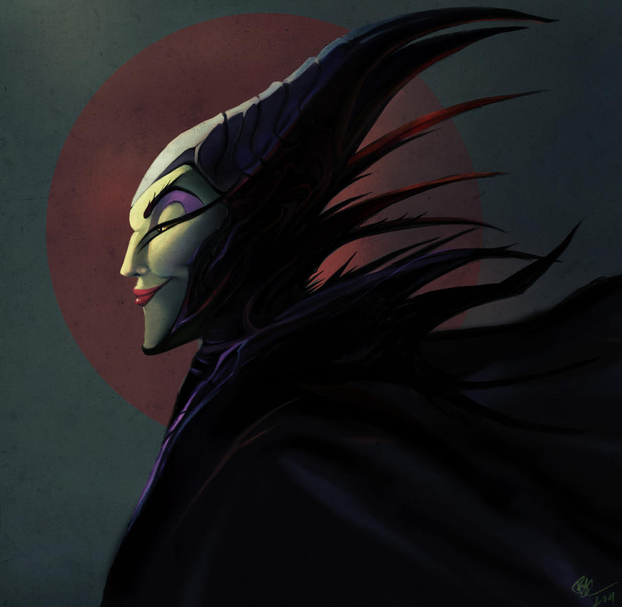 Maleficent Profile by lord-phillock