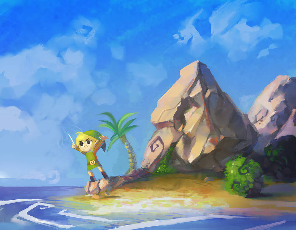 Link! Come to Town! by lord-phillock
