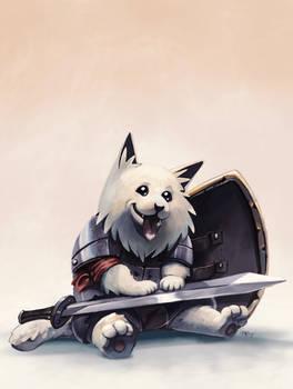 Pettable Warrior
