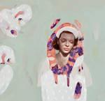 lady with a swan by unpreti