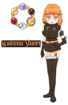Puella Magi - Wakumi Shiori (Redesign)