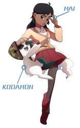 Mai + Kodamon!