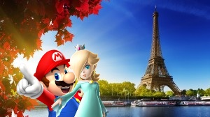 Mario and rosalina in paris by sonicsancho