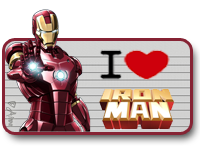 I Love Iron Man by TeamNeko