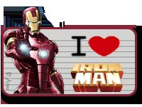I Love Iron Man by TeamNeko