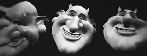 Devil's smile by Solotro
