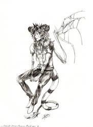 Sketch commission - Oraix