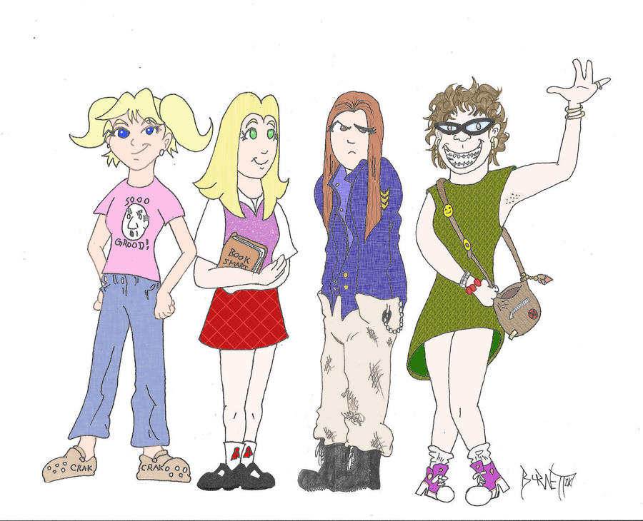 Teen Girl Squad by weezel365 ...