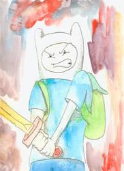 Finn in Watercolor