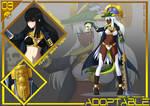 [OPEN ] Adopt Auction : Military Girl No.03 by Kamirfalia