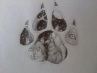 wolf tattoo design by heyitstaytay