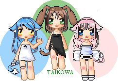 Three cuties by Taikowa