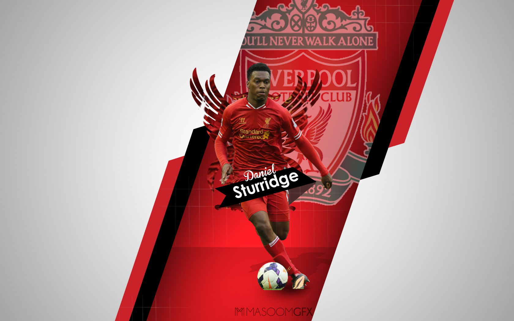 Daniel Sturridge By Masoomv98 On DeviantArt