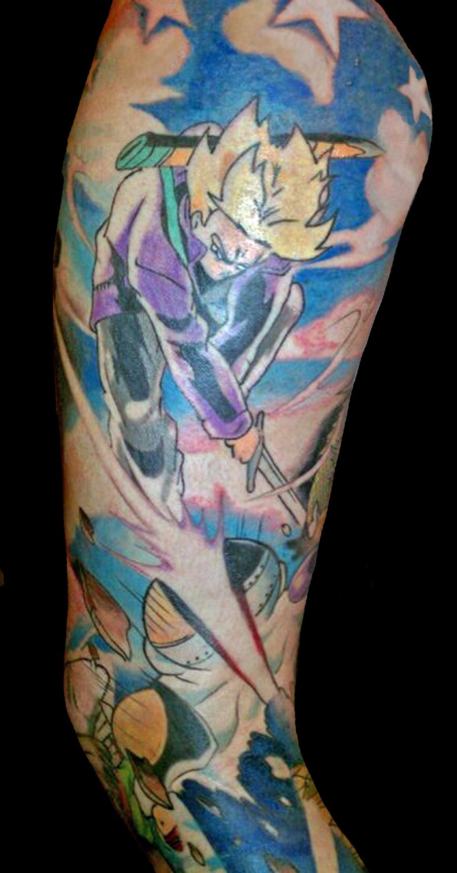 Dragon ball z tattoo gallery