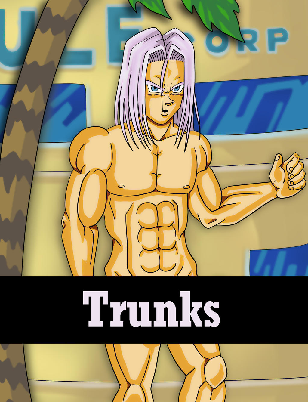 Future trunks nude the