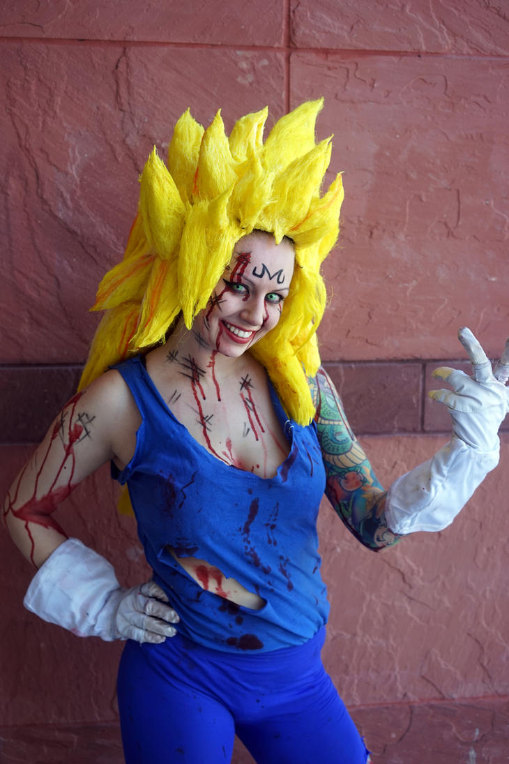 SS3 Majin Vegeta Cosplay by ILoveTrunks
