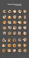 Orange Vector Icons by ScriptKiddy