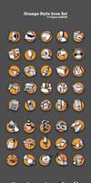Orange Vector Icons