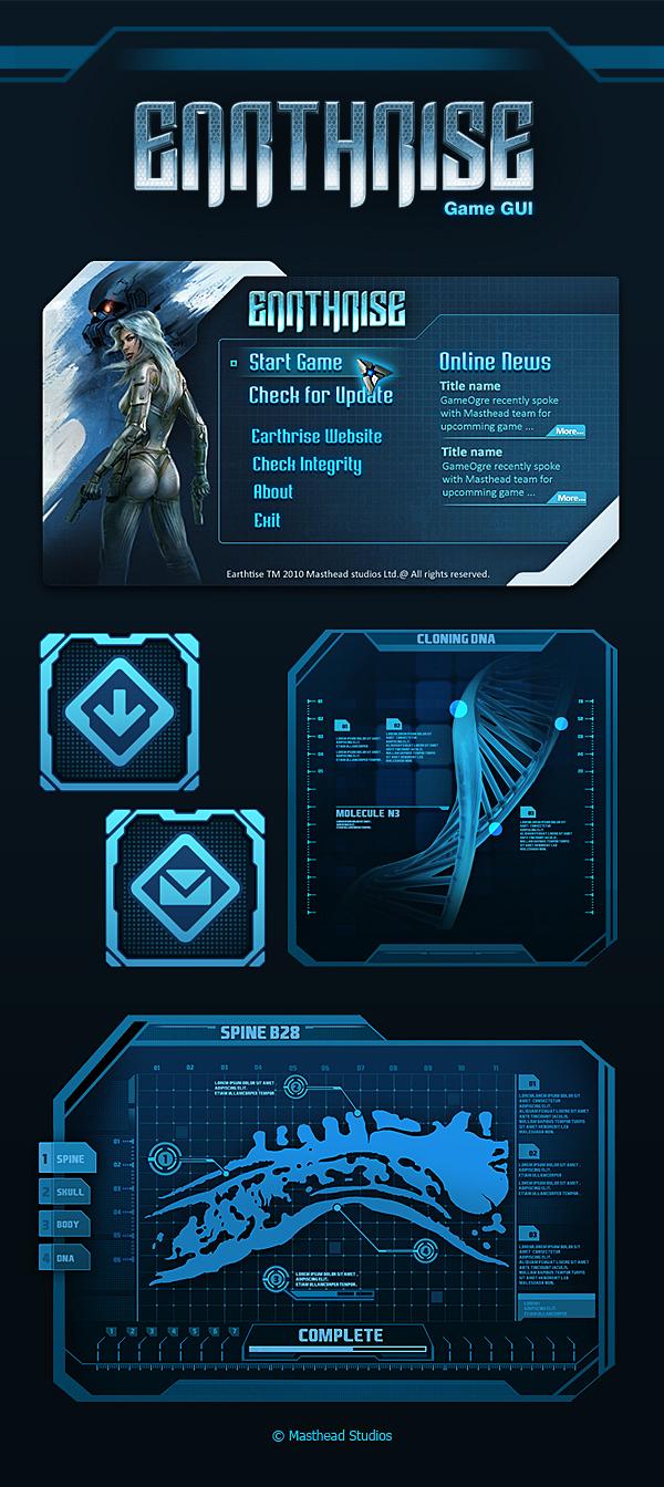 Earthrise GUI Design 02 by ScriptKiddy