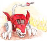 Chibi Red Lion