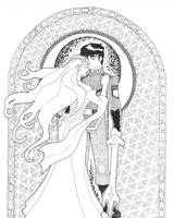 Keith and Allura by Cheetoy