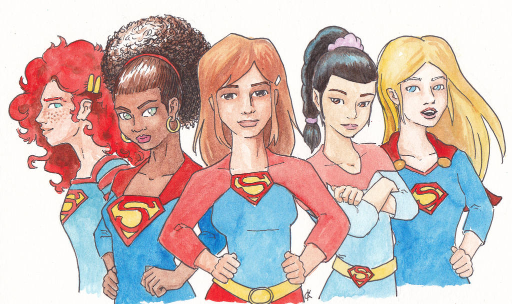 We are Supergirl