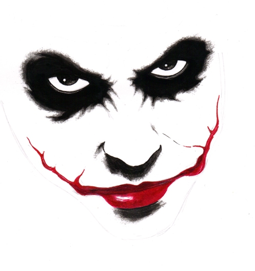 The Joker-Why so serious Joker Smile Png