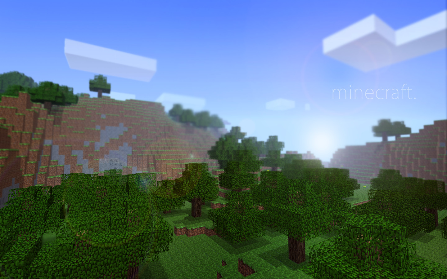 The Beauty of Minecraft by BatchMeta
